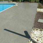 GraniFlex Concrete Swimming Pool Deck